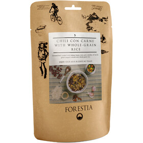 Forestia Outdoor Pasto pronto con carne 350g, Chili con Carne with Whole-Grain Rice